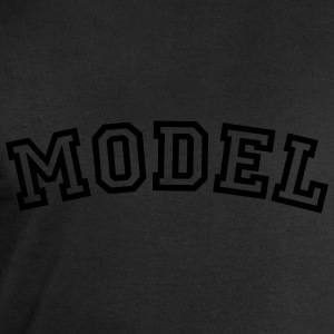 model curved college style logo - Men's Sweatshirt by Stanley & Stella