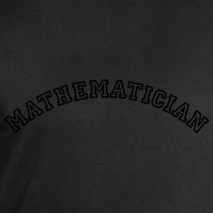 mathematician curved college style logo - Men's Sweatshirt by Stanley & Stella