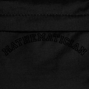mathematician curved college style logo - Kinder Rucksack