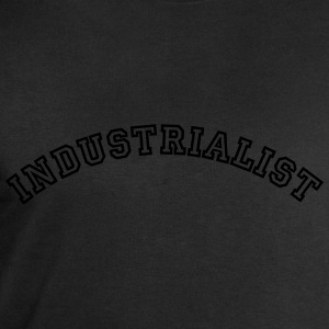 industrialist curved college style logo - Men's Sweatshirt by Stanley & Stella