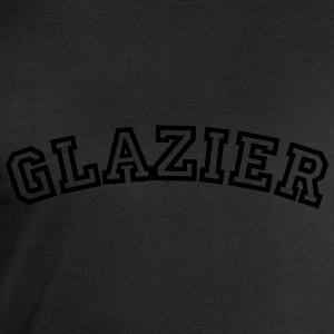 glazier curved college style logo - Men's Sweatshirt by Stanley & Stella
