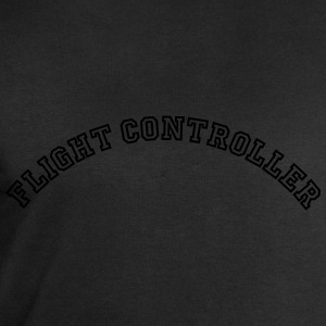 flight controller curved college style l - Men's Sweatshirt by Stanley & Stella