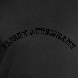 flight attendant curved college style lo - Men's Sweatshirt by Stanley & Stella