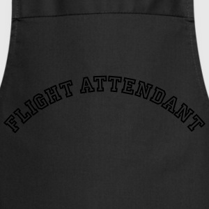 flight attendant curved college style lo - Cooking Apron