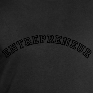 entrepreneur curved college style logo - Men's Sweatshirt by Stanley & Stella