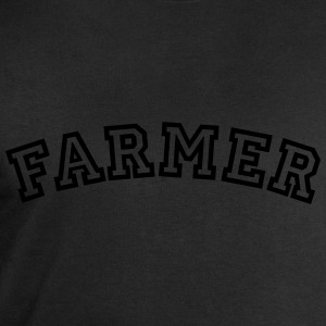 farmer curved college style logo - Men's Sweatshirt by Stanley & Stella