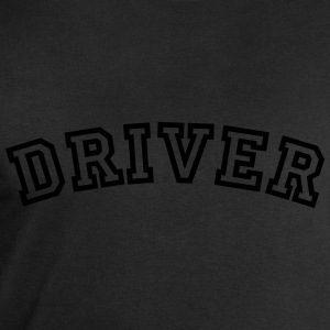 driver curved college style logo - Men's Sweatshirt by Stanley & Stella