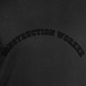 construction worker curved college style - Men's Sweatshirt by Stanley & Stella