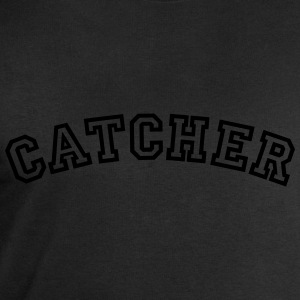 catcher curved college style logo - Men's Sweatshirt by Stanley & Stella