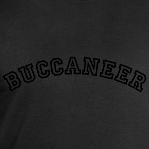 buccaneer curved college style logo - Men's Sweatshirt by Stanley & Stella
