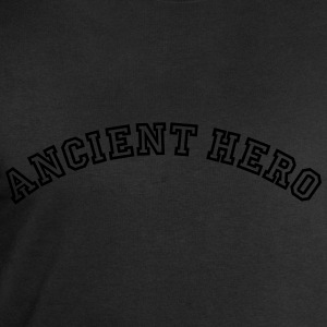 ancient hero curved college logo - Men's Sweatshirt by Stanley & Stella