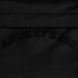 ancient hero curved college logo - Kids' Backpack