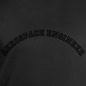 aerospace engineer curved college style  - Men's Sweatshirt by Stanley & Stella