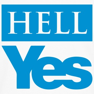 Hell Yes (Scottish Independence) - Men's Premium Longsleeve Shirt