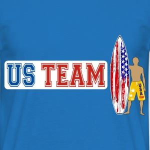 US Surfing Team Sweat-shirts - T-shirt Homme