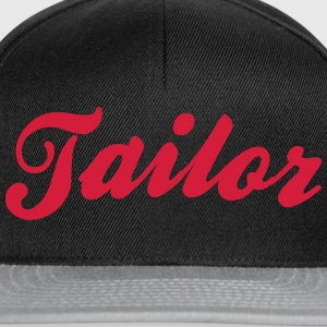 tailor cool curved logo - Snapback Cap