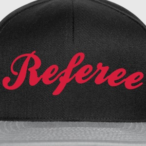 referee cool curved logo - Snapback Cap