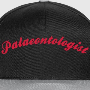palaeontologist cool curved logo - Snapback Cap