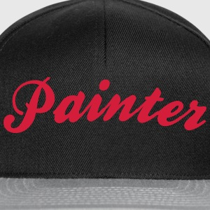 painter cool curved logo - Snapback Cap
