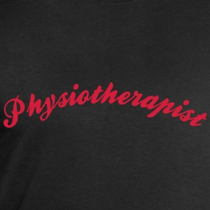 physiotherapist cool curved logo - Men's Sweatshirt by Stanley & Stella