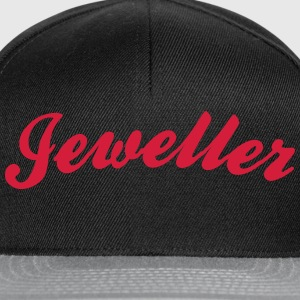 jeweller cool curved logo - Snapback Cap