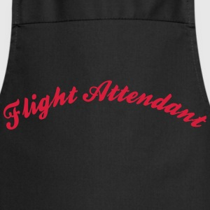 flight attendant cool curved logo - Cooking Apron