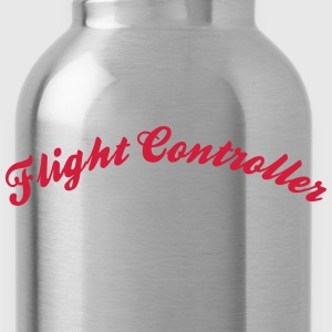 flight controller cool curved logo - Water Bottle