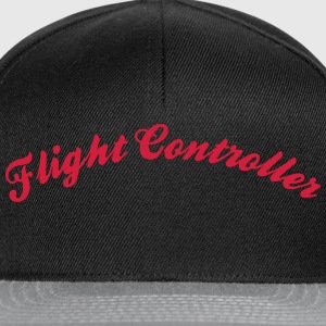 flight controller cool curved logo - Snapback Cap