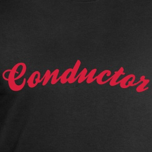 conductor cool curved logo - Men's Sweatshirt by Stanley & Stella