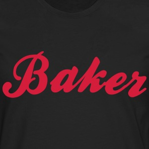 baker cool curved logo - Men's Premium Longsleeve Shirt