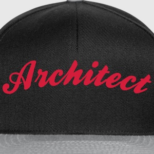 architect cool curved logo - Snapback Cap
