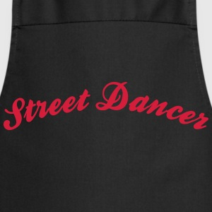 street dancer cool curved logo - Kochschürze