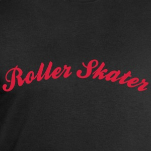 roller skater cool curved logo - Men's Sweatshirt by Stanley & Stella