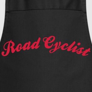 road cyclist cool curved logo - Kochschürze