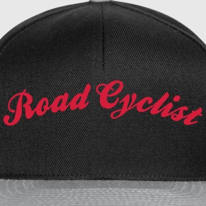 road cyclist cool curved logo - Snapback Cap