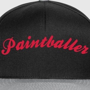 paintballer cool curved logo - Snapback Cap