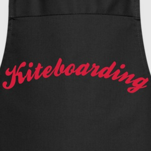 kiteboarding cool curved logo - Cooking Apron