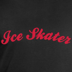ice skater cool curved logo - Men's Sweatshirt by Stanley & Stella