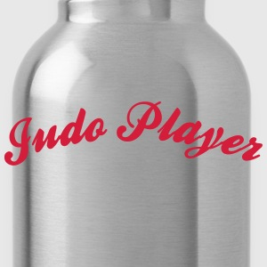 judo player cool curved logo - Water Bottle