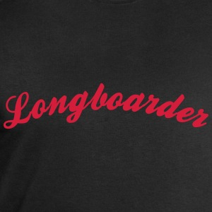 longboarder cool curved logo - Men's Sweatshirt by Stanley & Stella