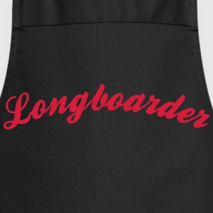 longboarder cool curved logo - Cooking Apron