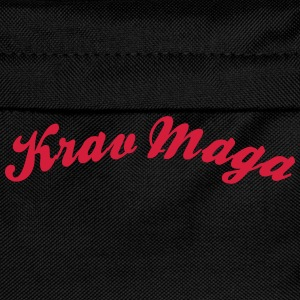 krav maga cool curved logo - Kids' Backpack
