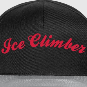 ice climber cool curved logo - Snapback Cap