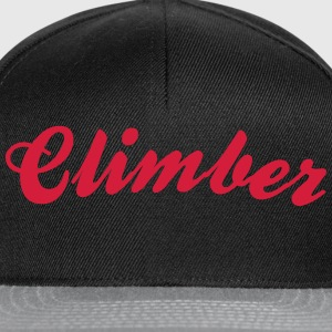 climber cool curved logo - Snapback Cap
