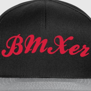 bmxer cool curved logo - Snapback Cap