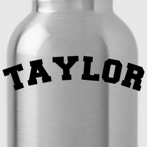 taylor sports name surname jersey curved - Trinkflasche