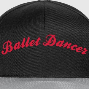 ballet dancer cool curved logo - Snapback Cap