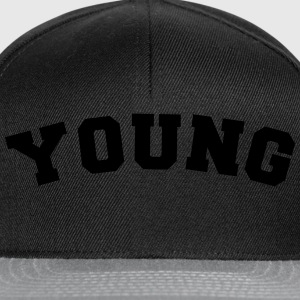 young name surname sports jersey curved - Snapback Cap