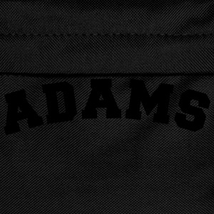 adams name surname sports jersey curved - Kinder Rucksack