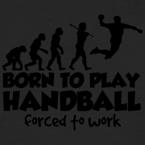 handball evolution born to play forced t - Men's Premium Longsleeve Shirt